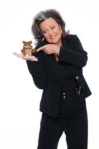 Photo Download - Candy Whirley - Pointing at Owl